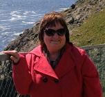 Kathleen Lyons, SOBI Founder, at Ireland's Mizen Head